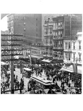 Sightseeing on Market Street, San Francisco Photographic Print by Archive Photos