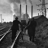 Rail Workers Photographic Print by Charles Hewitt