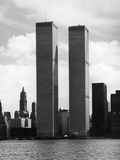 The Twin Towers Fotografisk tryk af Peter Keegan