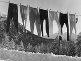 Long Johns Photographic Print by Kurt Hutton