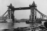 Tower Bridge Photographic Print by F. J. Mortimer