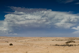 Thunderstorm Approaching over the Desert Photographic Print by  Circumnavigation