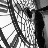 Clock Inspection Photographic Print by Frank Martin