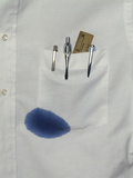 Ink-Stained Shirt Photographic Print by Tom Kelley