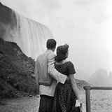 Niagara Couple Photographic Print by Douglas Grundy