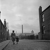 Lancashire Mill Town Photographic Print by Bert Hardy
