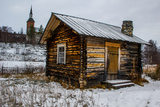 Traditional Sami Hut, Finland Photographic Print by WAHEED RASUL KHAN