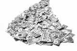 A Pile of Money Photographic Print by Tom Kelley