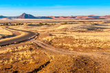 Road to Desert Photographic Print by  milosk50
