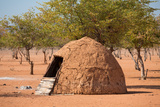 Traditional Huts of Himba People Photographic Print by  F.C.G.