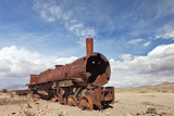 Train Cemetery, Uyuni, Bolivia Print by  zanskar