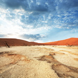 Dead Valley in Namibia Photographic Print by Andrushko Galyna