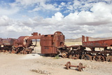 Train Cemetery, Uyuni, Bolivia Photo by  zanskar