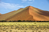 Vast Orange Dune at Sossusvlei Namib Naukluft Park Namibia Photographic Print by  photogallet