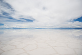 Salar De Uyuni, Salt Lake in Bolivia Photo by  javarman