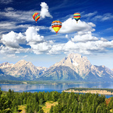 The Jackson Lake in Grand Teton Photographic Print by  Gary718