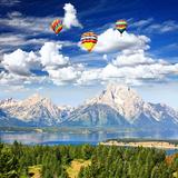 The Jackson Lake in Grand Teton Photographic Print by  Gary718