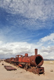 Train Cemetery, Uyuni, Bolivia Poster by  zanskar
