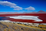 Red Lake Photographic Print by Werner Büchel