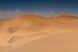 Yellow Sand Dunes at Swakopmund Photographic Print by  Circumnavigation