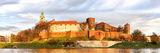 Panorama of Wawel Castle in Krakow, Poland Photographic Print by  boule