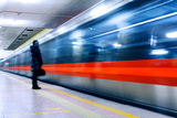 Subway Photographic Print by  long8614