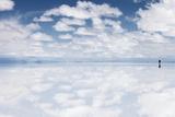 Salar De Uyuni, Salt Flat in Bolivia - Biggest Salt Lak in the World Poster by  zanskar