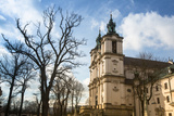View of the Church of St. Stanislaus Bishop in Krakow. Photographic Print by De Visu