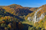 Autumn in Ojcow National Park. Photographic Print by  Geo-grafika