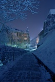 One Winter Night Photographic Print by  duallogic