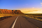 Scenic Road through Vermilion Cliffs in Arizona Photographic Print by  SNEHITDESIGN