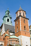 View of the Beautiful Saint Stanislas Cathedral at Wawel Castle, Krakow, Poland, Viewed from Behind Prints by  dziewul