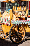Traditional Polish Smoked Cheese Oscypek on Outdoor Market in Zakopane Photographic Print by Curioso Travel Photography