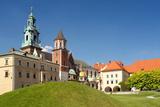 Wawel Cathedral, Part of Royal Wawel Castle in Krakow - Poland Prints by  pryzmat
