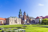 Wawel Castle on Sunny Day with Blue Sky and White Clouds Photo by Jorg Hackemann