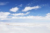 Salar De Uyuni, Salt Flat in Bolivia Print by  zanskar