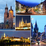 Cities of Europe - Prague and Krakow Photographic Print by George D.