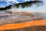 Grand Prismatic Spring Photographic Print by Peter Mooij