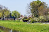 Old Dutch Farm with Haystack and Orchard Photographic Print by  Colette2