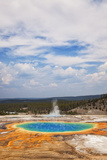 Grand Prismatic Spring Photographic Print by CrackerClips Stock Media
