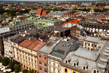View of the Old Town of Cracow. Poland Photographic Print by De Visu