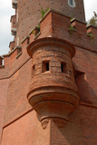 Castle Wall Corner with Defensive Bay Windows. Wawel Royal Fortress in Polish Krakow . Photographic Print by  Copestello