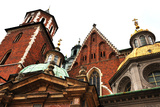 Cathedral at Wawel Hill in Krakow in Poland Poster by  jitloac