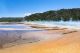 Grand Prismatic and Midway Geyser Basin Photographic Print by Denton Rumsey