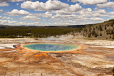 Grand Prismatic Spring Photographic Print by  searagen