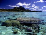 Bora Bora Lagoon Photographic Print by Ron Whitby Photography