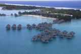Bora Bora Aerial Photographic Print by  GDVCOM