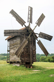 Summer Landscape with Old Windmill Photographic Print by  Zibedik