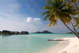 Bora Bora in the French Polynesian Islands Photographic Print by  Woolfy