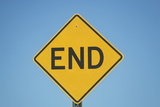 Usa, Florida, Close-Up of Dead End Sign Photographic Print by  Fotog